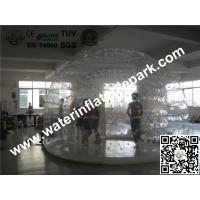 UV Protected Transparent PVC Inflatable Clear Dome / 4m Dia Clear Dome