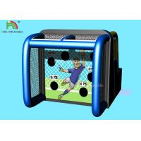 6*4m Inflatable Sports Games Basketball Shooting Playing Center 14 Months Warranty Manufactures
