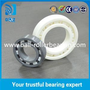 China C2 C3 Clearance Miniature Ceramic Ball Bearings , Motorcycle Ceramic Bearings on sale