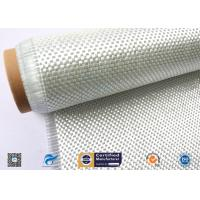 High Temperature Resistant Fiberglass Fabric , Woven Roving Cloth With High Strength Manufactures