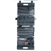 High Speed Steel Fully Ground Titanium Drill Bit Sets Multi function Screwdriver Set 149pcs Manufactures
