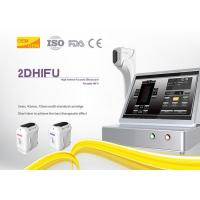 Beauty Salon Hifu Body Slimming Machine Elastin Fiber Contraction 4MHz Frequency Manufactures