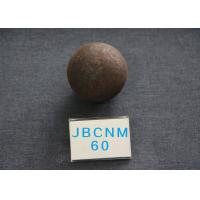 Cheap B2 Grinding Balls For Mining , D60MM Hot Rolling Steel Balls Good tougness for sale