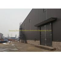 China Q345 Prefabricated Warehouse Steel Structure Garage ASTM BS DIN Standard on sale