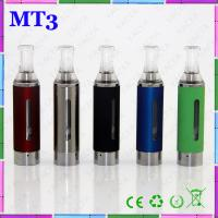 2.4ml Capacity E Cig Vaporizer Colorful MT3 Atomizer 510 Thread With Replacement Coil Tank Manufactures