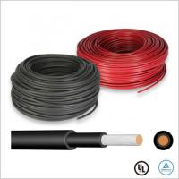 Ozone Resistant Solar Cable Wire 1500V 6mm Solar PV Cable TUV Certified Manufactures