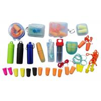 Cheap Various Size Anti - Noise Ear Plugs , Silicone Ear Plugs For Sports for sale