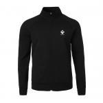 Mens 2018 Winter long sleeve full zip polar fleece heather hoody Manufactures