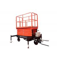 China Self Propelled Hydraulic Mobile Scissor Lift Table With Lifting Height 3 - 16m on sale