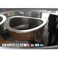 Cheap Large Scale Forging Stainless Steel Weld Neck Flanges Rough Machining for sale