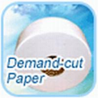 Biodegradable Unbleached Natural White jumbo roll tissue paper 18 g / ㎡ Manufactures