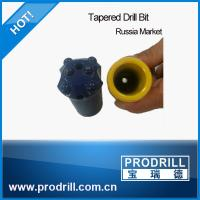 High Quality buttons Tapered Drill Bit for Russia Market Manufactures