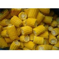 Cheap Natural Organic Frozen Vegetables Frozen Sweet Corn / Baby Corn Contains No Cholesterol for sale