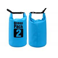 2l Roll Top Dry Bag Small Dry Sack 500d Pvc Tarpaulin For Water Sports Manufactures