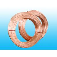 Copper Coated Steel Evaporator Tube 4.76 * 0.7 mm , Low Carbon Strip Manufactures