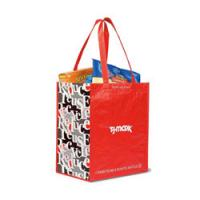 Laminated 100% Recycled Shopper Manufactures