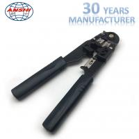 Black Network Crimp Striping Cut Tool ABS Material For Cable Striper Manufactures