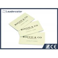 China CR80 Hico Magnetic Cards , PVC Loyalty Cards CMYK Printing High Security on sale