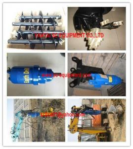 China earth auger, auger drive for excavator, backhoe, skid steer loader on sale