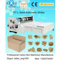 Cheap 3kw CE Joggling Chrome Chain Feeding Automatic XT-L Series Carton Slotting Machinery for sale