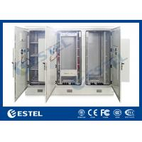 Three Bays Base Station Cabinet Outdoor Telecom Enclosure Customized ET24080200 Manufactures
