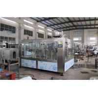 Small Scale Automatic Drinking Water Filling Machine For PET Bottles