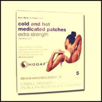 Cheap Cold & Hot Medicated Patch Backache Cramps Arthritis Muscle Strain for sale