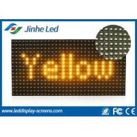 Cheap Epistar Single Color P10 LED Screen Modules Red Blue Yellow White Green for sale