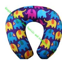 Kids U Shaped Travel Neck Pillow , Soft Foam Neck Pillow For Airplane Travel Manufactures