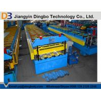 Cr12 Metal SteelDeck Forming Machine With Color Coated380V 50Hz Manufactures