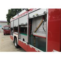2x Halogen Lamp Tanker Fire Truck , 260 L/Min Flow Light Rescue Fire Trucks