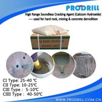 High Range Soundless cracking agent from prodrill with High quality Manufactures