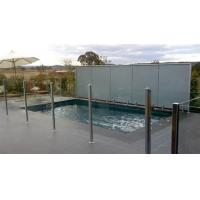 12 MM Clear Pool Fencing Glass Toughened For Railing System Manufactures