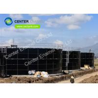 Customized Color Glass Lined Water Storage Tanks 30000 Gallon For Sludge Manufactures