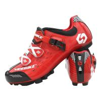 Bike Waterproof Cycling Footwear / Men's Nylon+TPU Mountain Bike Shoes Manufactures
