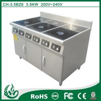 China commercial kitchen induction range cooker on sale