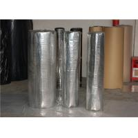 China In Roll Soundproof Acoustic Insulation Foam With Aluminum Foil Black EPDM on sale