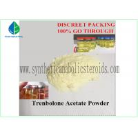 China Yellow Tren Acetate Powder Fitness Steroids Hormones Pharma Raw Materials on sale