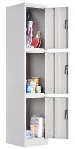 3 Door Gym Steel KD RAL Clothes Storage Locker Manufactures
