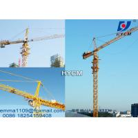 Cheap 4 tons TC4810 Top Climbing Mini Tower Cranes 380v/50hz Power Civil Projects for sale