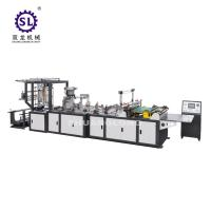 Computer Control Zipper Lock Bag Making Machine 20-120pcs/min Speed Manufactures
