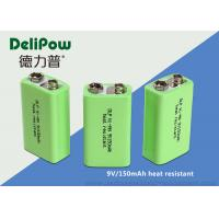 150mAh Rechargeable Batteries Nimh , Rechargeable 9v Batteries For Wireless Microphones