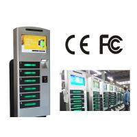 Free Standing Cell Phone Charging Station With 6 Safe E - Lock Charging Box Manufactures
