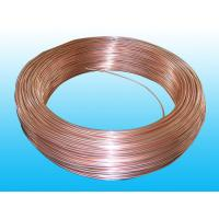 Copper Coated Double Wall Bundy Tube 6 * 0.7 mm For Freezer Manufactures
