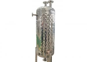 Dimple Jacket Stainless Steel Fermentation Tank For Milk / Beer / Dairy Manufactures