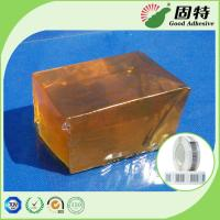 Cheap Transparent  Industrial Hot Melt Glue Block Pressure Sensitive Gummed Paper for sale