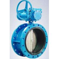 Cheap C.I BUTTERFLY VALVE 200MM D/F. WITH PN 10, ALUMINUM OR BRONZE DISC WITH COMPLIES S5155 DIN 3354; AWWA C504 for sale