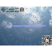 Quality 0.8mm Transparent PVC Inflatable Bubble Tent / Airtight Clear Dome Tent For for sale
