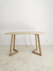 KD 120X60X75cm Small Square Wooden Dining Table Manufactures