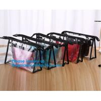 Buy cheap Travel Toiletry Bag Makeup Pouch Durable Carry-On Clear Zipper Small Cosmetics from wholesalers